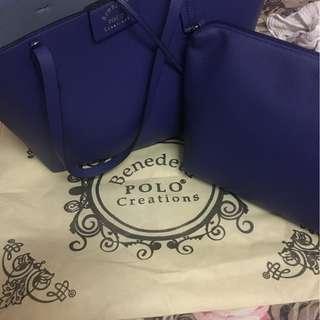 Benedetti Polo Creation Tote Bag