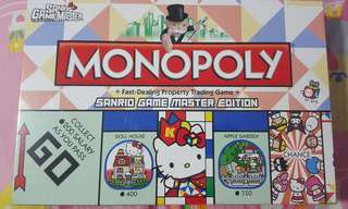Hello Kitty Sanrio Game Master Edition Monopoly 大富翁