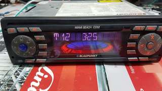 BLAUPUNKT Miami Beach CD52 Car Radio CD Player (FAULTY)