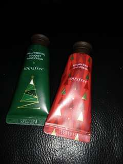 Innisfree holiday limited edition miniature handcream