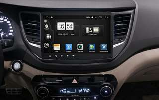 "Hyundai Tucson Android 10.2"" seen WiFi,  GPS,  internet,  USB,  amplifier"