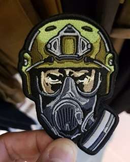 STRATO GEARS Special Force ELITE Velcro/ Morale Patch GITD