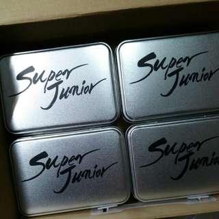 super junior 鐵盒 $80四個