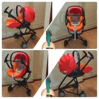 Quinny zapp, Cybex CloudQ infant car seat