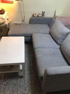 搬家出清😜IKEA💋超美北歐風灰色L沙發