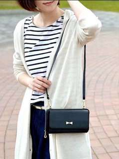 Cache Cache Leather Sling Bag