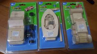 Build-your-own wooden toys