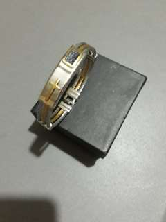 Couples Fashioned Bangles Two Toned
