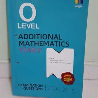 BN O LVL MATH TYS BRAND NEW