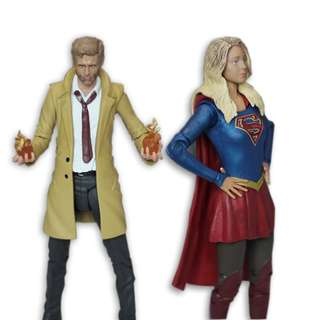 DC Character Supergirl and Arrow: Constantine Action Figure