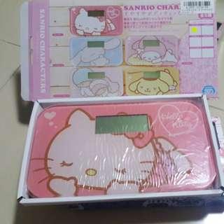 Sanrio Hello Kitty weighting machine / body checker