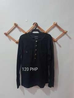 Black Long Sleeves Shirt
