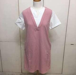 NEW! Korean Shirt Dress with Pockets