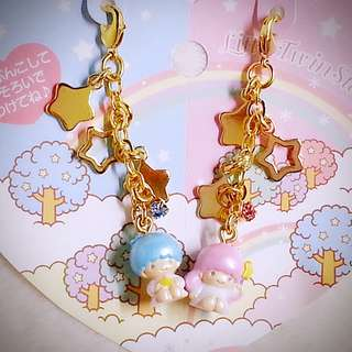 Little Twin Stars 894651 Sanrio Product 日本空運 可愛 幸運星 公仔 吊飾 日本版 珍藏 紀念 小禮物 小吊飾 掛飾(雙星仙子,KiKi&LaLa)(リトルツインスターズ)