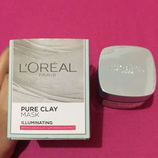 Pure clay mask L'OREAL