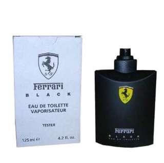🚚 Ferrari 黑色法拉利男香 125ml-Tester包裝