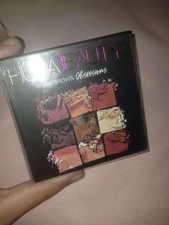 HUDA BEAUTY EYESHADOW PALETTE BROWN OBSESSION (BACA DESCRIPTION)