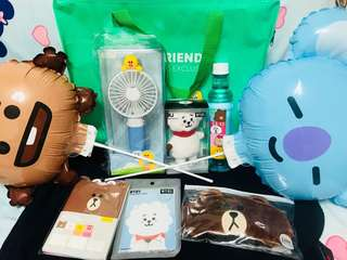 LINE FRIENDS xBT21 Apm開幕 VIP Gift Pack