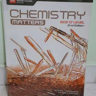 CHEMISTRY PURE O LEVEL TEXTBOOK SECONDARY 3 AND 4