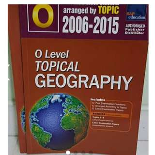 BN O LEVEL CORE GEOGRAPHY TEN YEAR SERIES TYS