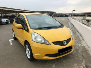 Honda Fit@Jazz 2008 *Yellow Spoon* 1.3L Auto  Status 🇸🇬🦁 Condition Showroom Collect JB Rm7000 *Siap Rotax S'pore*