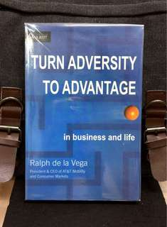 # Highly Recommended《New Book Condition + Author Shares The Lessons Learned In Business & Life Along The Journey From Cuba To Corporate America》Ralph de la Vega -TURN ADVERSITY TO ADVANTAGE IN BUSINESS AND LIFE