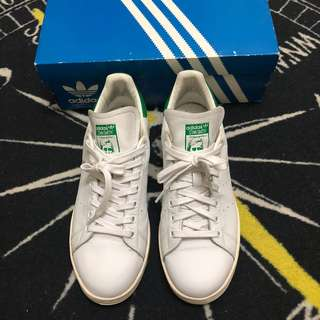 🚚 Adidas Stan Smith基本款/金標/奶油底/真皮款/US9.5
