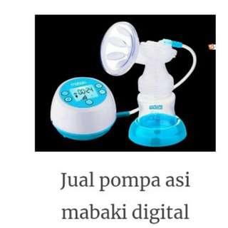 Breast Pump Mabaki digital elektrik