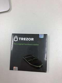 Trezor USB wallet