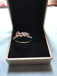 Pandora LOVE silver ring
