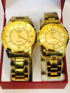 Tissot watch pair