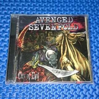 🆒 Avenged Sevenfold - City Of Evil [2005] Audio CD