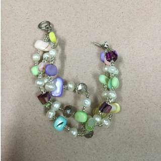 Multicolour Crystal Bracelet