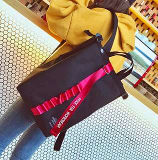 Ulzzang college backpack