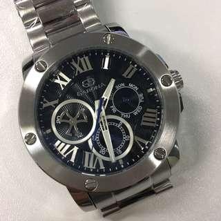 全新型格男裝鋼錶 $200