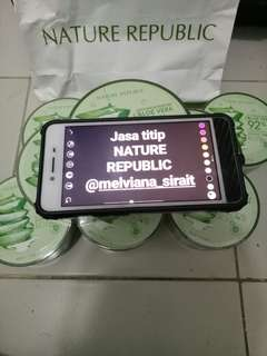 OPEN JASA TITIP NATURE REPUBLIC