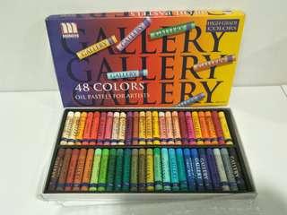 Mungyo 48 Color Oil Pastels