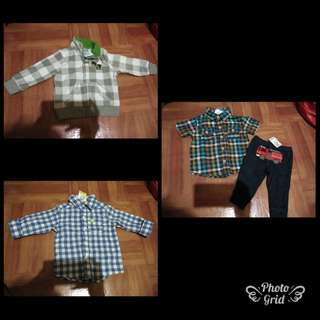 OOTD for boys 6-12 mos