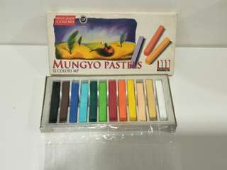 Mungyo 12 Color Non-toxic Soft Pastels