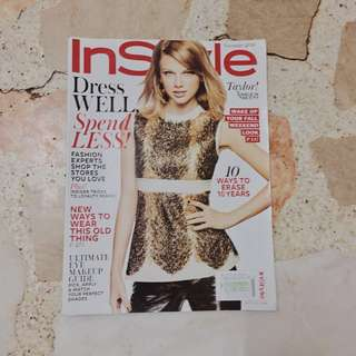 taylor swift instyle