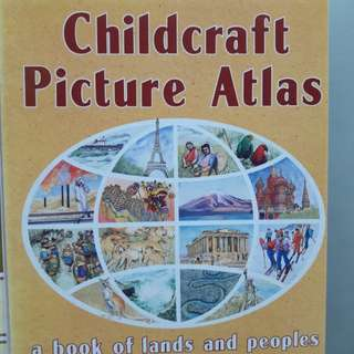 Childcraft Picture Atlas & Dictionary