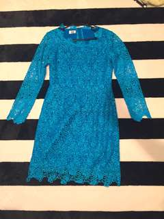 Dress or top baju kurung