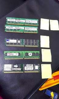 🚚 記憶卡 桌上型 電腦 配件 2GB 零件 cpu 硬體 256MB 512MB #好物免費送