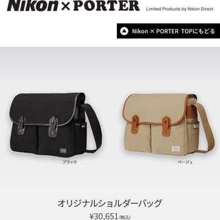 💢Nikon X Porter 相機袋(New)