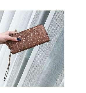 (Preorder) glittered clutch wallet