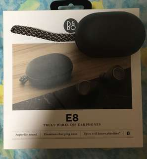 B&O Play E8 藍芽耳機