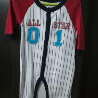 Baseball Sleepsuit