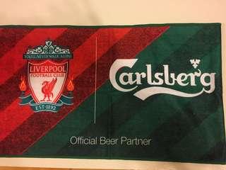 Liverpool x carlsberg towel 利物浦 x 嘉士伯毛巾