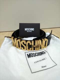 Authentic Unisex Moschino Belt