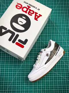 AAPE by BAPE x FILA Original Tennis T1 T-1